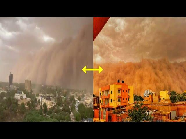 Strange And Massive Dust Cloud Seen In Africa May 2020