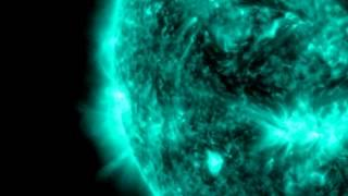 Two Powerful X-Flares Erupt From Sunspot | Video