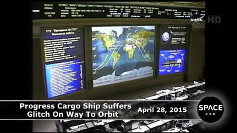 Glitch! Russian Cargo Ship Spinning Out Of Control | Video
