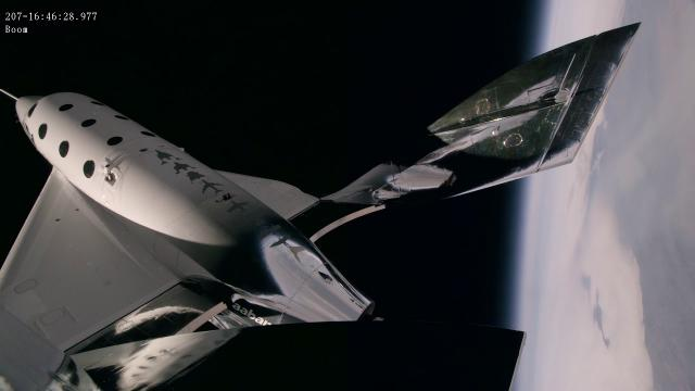 'Beautiful Black Sky' - Virgin Galactic's VSS Unity Flies Higher Than Ever