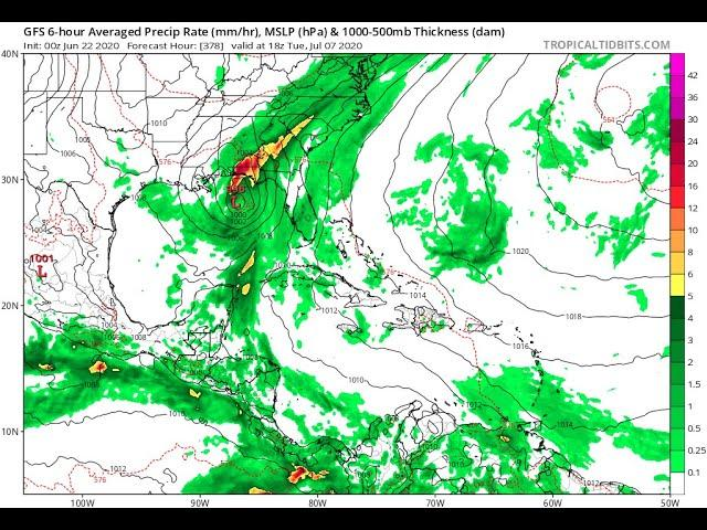 Get Ready for a Tropical Storm/Hurricane July 9th! Florida & The Gulf of Mexico Coastal Cities!