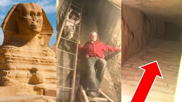 The head of the great Sphinx: is it the gateway to a secret city?