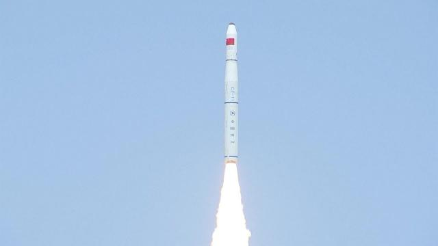 China's Long March-11 Rocket Launches 5 Satellites