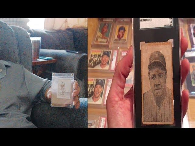 Man Finds $2 Fake Baseball Card, Then Realizes It's The Real Deal