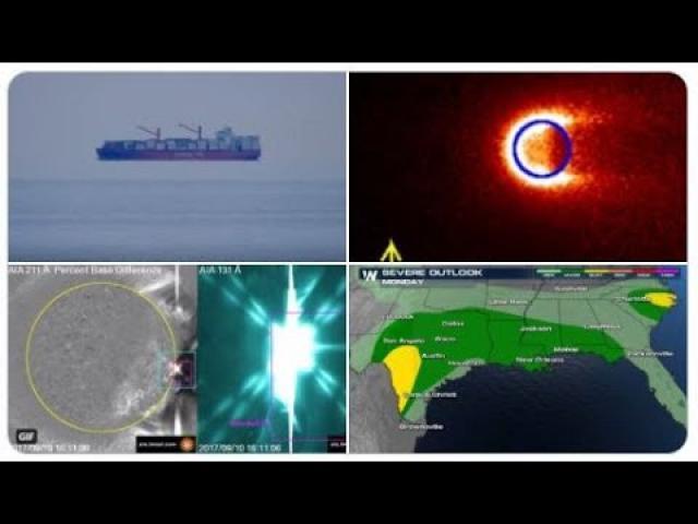 Major New Orleans flooding? More floating ships! Darkside Pipeline Shutdown!  Mercury's Tail!