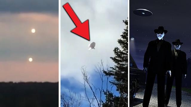 5 MASSIVE UFO Sightings Caught On Camera In Daylight!