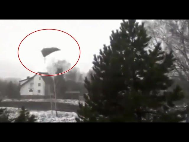 Ufo mothership over a house!! extreme close up video!
