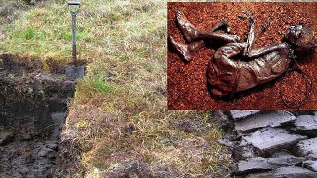 Peat Cutters Uncovered A Perfectly Preserved 2,000-Year-Old Victim Of Human Sacrifice In A Bog