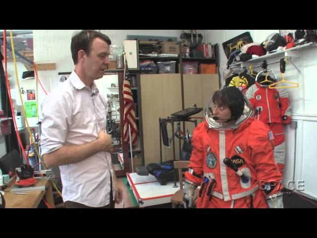 How To Try On A Real Spacesuit -- In Brooklyn | Video