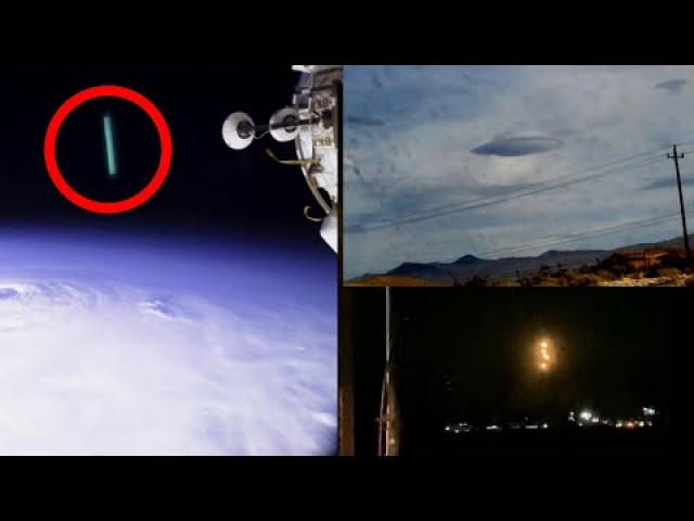 Cloaked Mile Wide UFO? HAARP CRAFT ISS? What Happened Over NM? 2020!