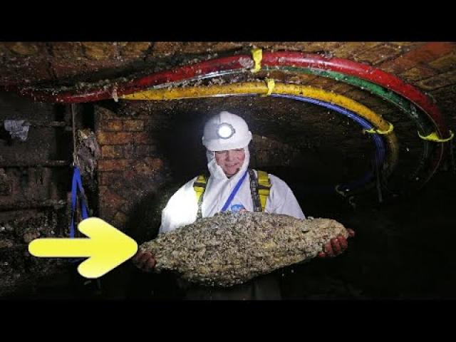 They Were Trying To Clear A London Sewer When They Discovered This