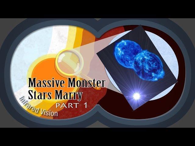 Massive Monster Stars Marry & Merge