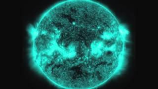 Solar Flare's 'Psychedelic' Burst Seen In Different Wavelength | Video