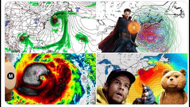 Red Alert! Cat 4 Hurricane Teddy danger to NE USA & TD-22 a Hurricane danger to Texas & Gulf Coast