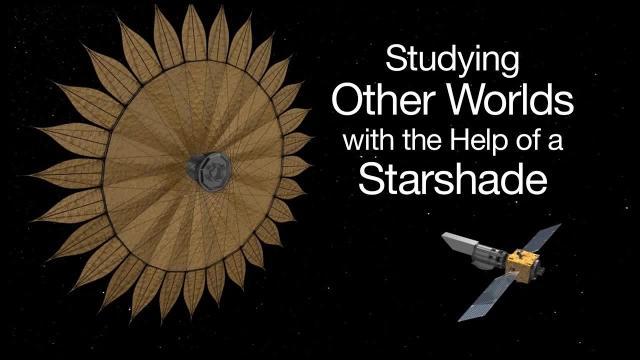 Watch NASA's 'Starshade' Prototype Unfurl in Animation