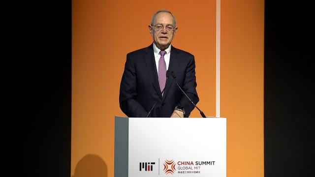MIT China Summit: L. Rafael Reif