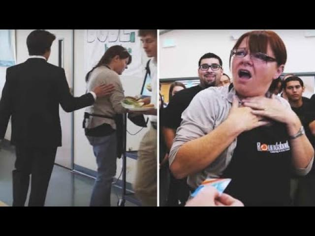 This Lunch Lady Was Asked To Sit Down Then She Discovered What The Students Had Done