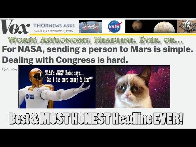 Worst. Astronomy. Headline. Ever. or Best Headline EVER!!!?!?