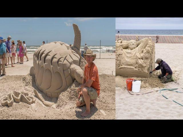 The Best Sand Sculptures From The Texas SandFest Sculpture Competition