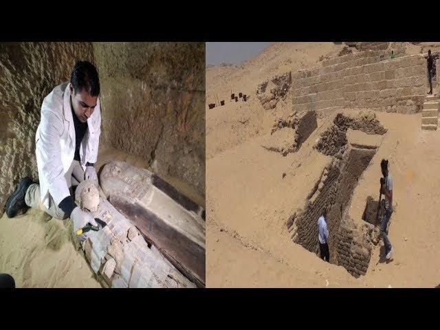 4500 year old cemetery and sarcophagus discovered In Egypt