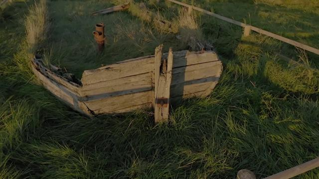 Graveyard of the Barges PURTON Marina