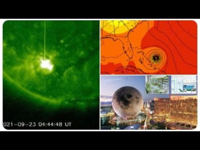 5 Sunspots! 2 M Class Solar Flares! ALERT October Hurricane Watch! Spain Floods! Fuego Volcano!