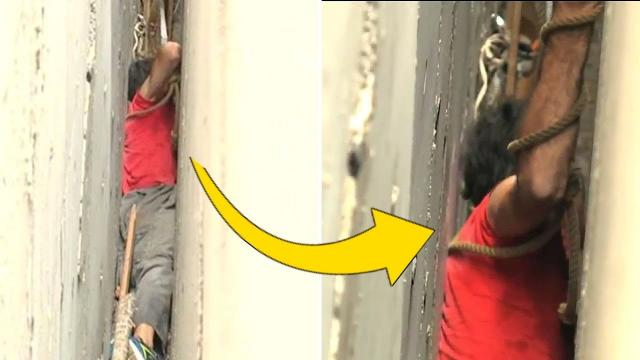 When He Thought All Hope Was Lost, Rescuers Respond To This Man's Cries For Help