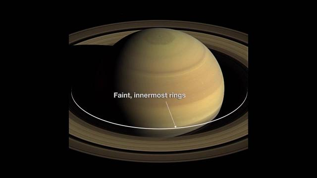 Cassini S Dangerous Dives Through Saturn S Rings