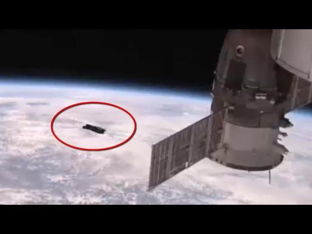 UFO Appears In NASA Live Feed?   December 2019