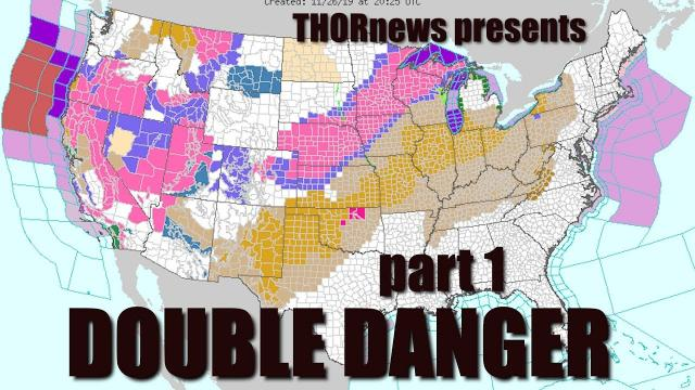 Warning! Dangerous Thanksgiving Double Storms have Begun! 100 hour Madness!