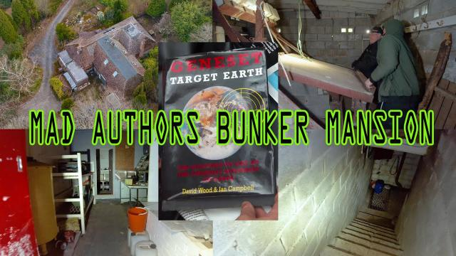 Famous Author Goes MAD abandons MANSION and BUNKER