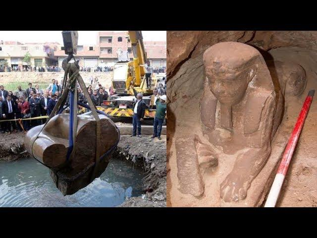 Second sphinx dating back 4,000 years found by construction workers in Egypt