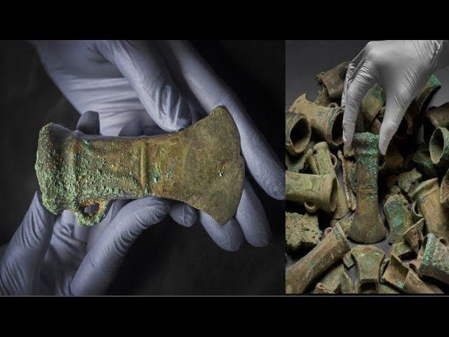 The largest ever Bronze Age hoard to be discovered in London