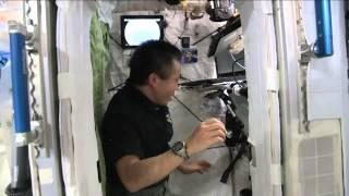Space Station Bedroom Is 'Telephone Booth Tiny' | Video