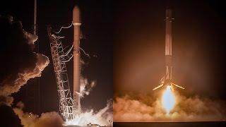 """""""The Falcon has landed"""" 