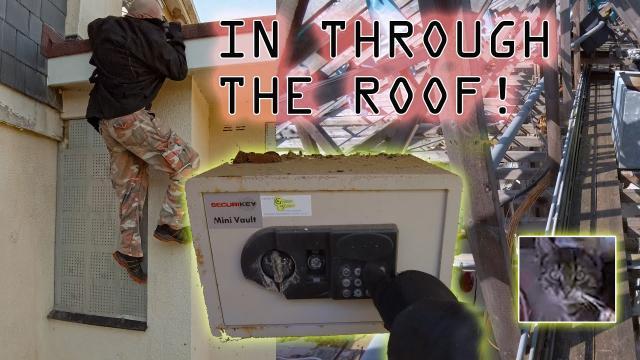 Tiverton Care Home ACCESS VIA ROOF CLIMB