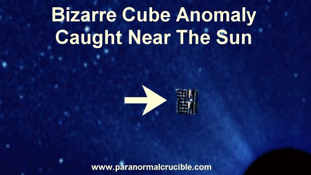 Bizarre Cube Anomaly Caught Near The Sun