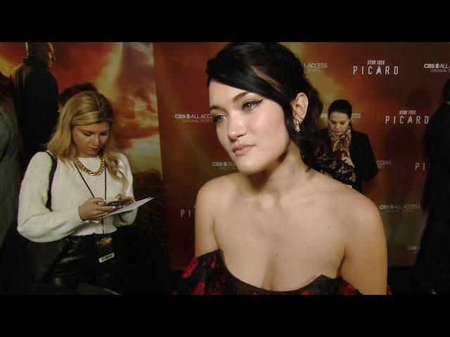 'Star Trek: Picard': Isa Briones from the red carpet