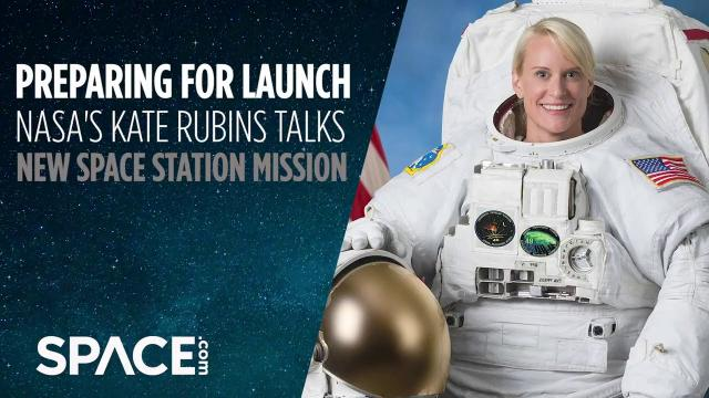 Preparing for launch! NASA's Kate Rubins talk new space station mission