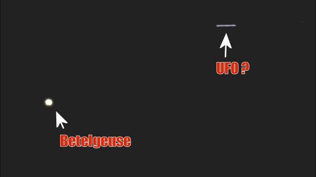 LIVE TELESCOPE Moon Betelgeuse March 26, 2020 (UFO Near Betelgeuse ? 1:00:03)