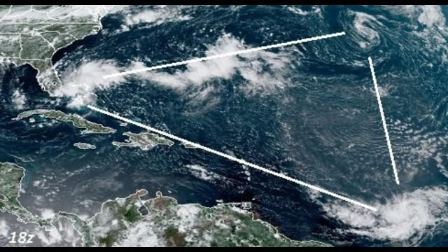 Peak Hurricane Season Watch! 98L & 99L & Chantal & Neptune and Eris alignments